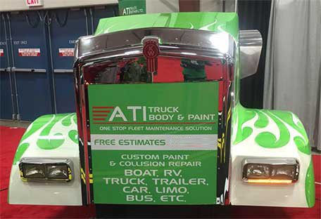ATI Truck Repair - Truck repair and Truck collision repair in B.C.